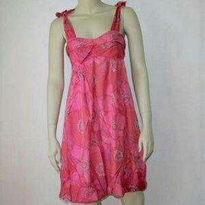Marc Jacobs Pink Silk Bubble Dress Size 2